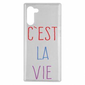 Samsung Note 10 Case C'est la vie