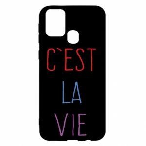 Samsung M31 Case C'est la vie