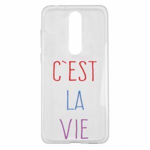 Nokia 5.1 Plus Case C'est la vie
