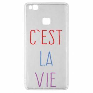 Huawei P9 Lite Case C'est la vie