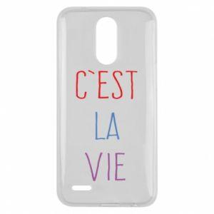 Lg K10 2017 Case C'est la vie