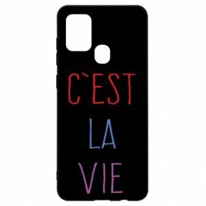 Samsung A21s Case C'est la vie