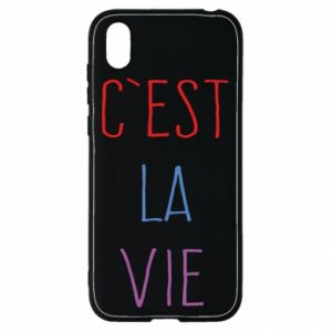 Huawei Y5 2019 Case C'est la vie