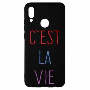 Huawei P Smart 2019 Case C'est la vie