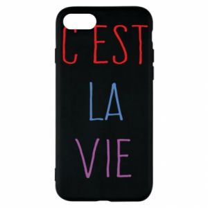 iPhone SE 2020 Case C'est la vie