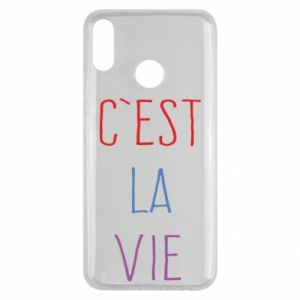 Huawei Y9 2019 Case C'est la vie
