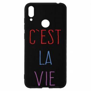 Huawei Y7 2019 Case C'est la vie