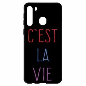 Samsung A21 Case C'est la vie