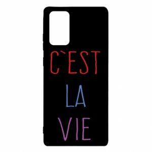 Samsung Note 20 Case C'est la vie