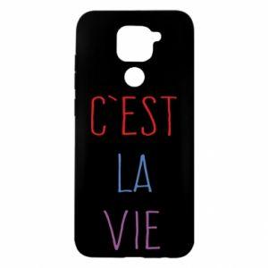Xiaomi Redmi Note 9 / Redmi 10X case % print% C'est la vie