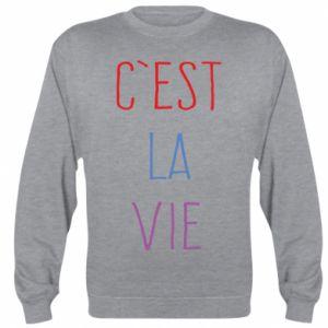 Bluza (raglan) C'est la vie