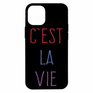 iPhone 12 Mini Case C'est la vie