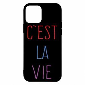 iPhone 12/12 Pro Case C'est la vie