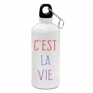 Water bottle C'est la vie