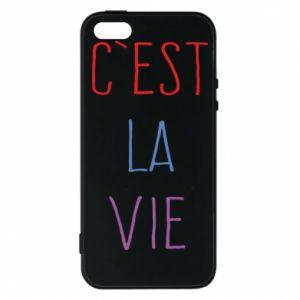 Etui na iPhone 5/5S/SE C'est la vie