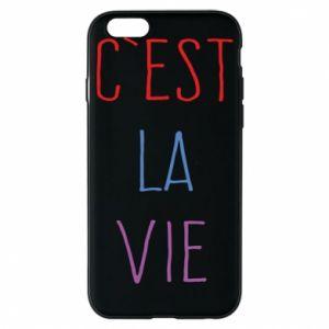 Etui na iPhone 6/6S C'est la vie