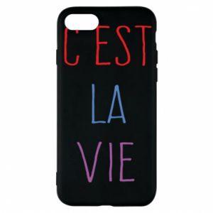 Etui na iPhone 7 C'est la vie