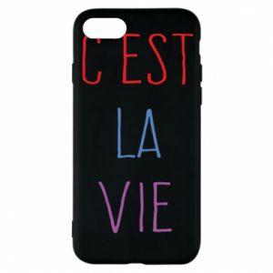 Etui na iPhone 8 C'est la vie