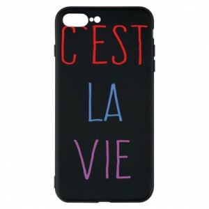 Etui na iPhone 8 Plus C'est la vie
