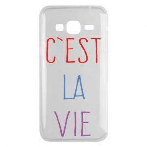 Phone case for Samsung J3 2016 C'est la vie