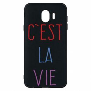 Etui na Samsung J4 C'est la vie