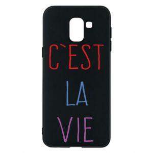 Etui na Samsung J6 C'est la vie