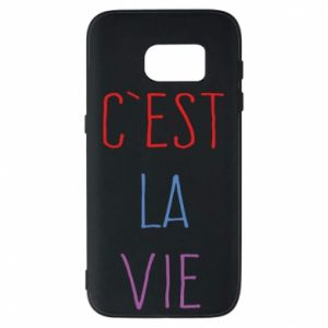 Etui na Samsung S7 C'est la vie