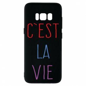 Etui na Samsung S8 C'est la vie