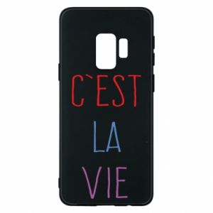 Etui na Samsung S9 C'est la vie