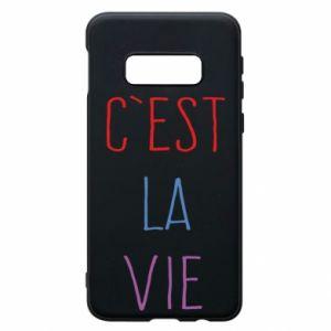Etui na Samsung S10e C'est la vie