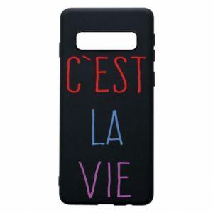 Etui na Samsung S10 C'est la vie