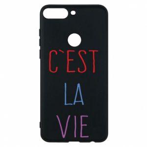 Phone case for Huawei Y7 Prime 2018 C'est la vie