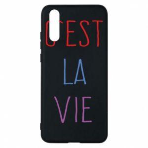 Phone case for Huawei P20 C'est la vie