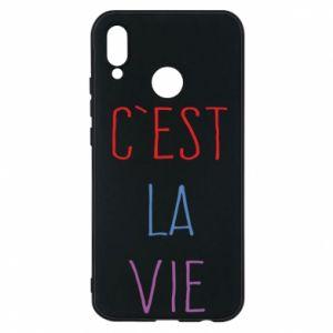 Etui na Huawei P20 Lite C'est la vie