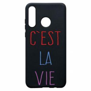 Etui na Huawei P30 Lite C'est la vie