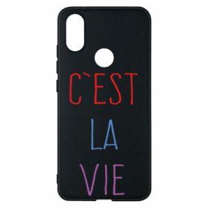 Phone case for Xiaomi Mi A2 C'est la vie