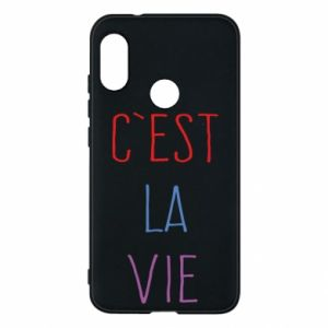 Phone case for Mi A2 Lite C'est la vie