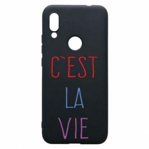 Etui na Xiaomi Redmi 7 C'est la vie