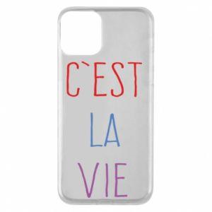 Etui na iPhone 11 C'est la vie