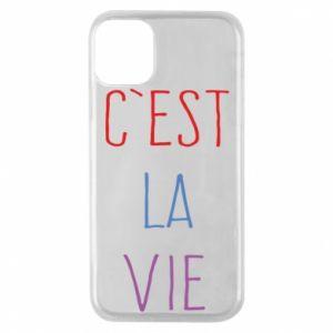 Etui na iPhone 11 Pro C'est la vie