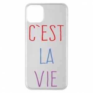 Etui na iPhone 11 Pro Max C'est la vie