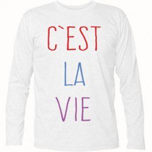 Koszulka z długim rękawem C'est la vie