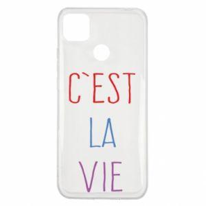 Xiaomi Redmi 9c Case C'est la vie