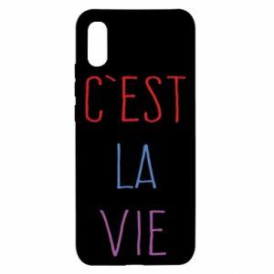Xiaomi Redmi 9a Case C'est la vie