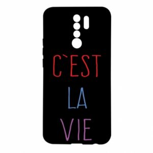 Xiaomi Redmi 9 Case C'est la vie