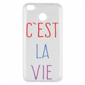 Xiaomi Redmi 4X Case C'est la vie
