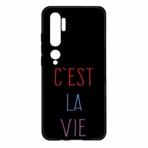 Xiaomi Mi Note 10 Case C'est la vie