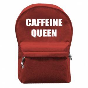 Plecak z przednią kieszenią Caffeine queen