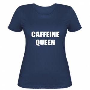 Damska koszulka Caffeine queen