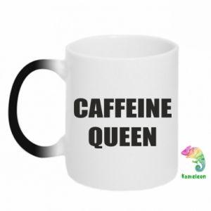 Kubek-kameleon Caffeine queen